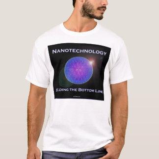 Nanotechnology.  Building the Bottom Line (2) T-Shirt
