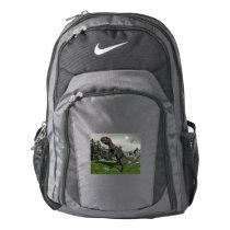 Nanotyrannus dinosaur - 3D render Nike Backpack
