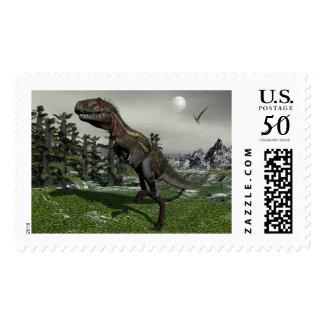 Nanotyrannus dinosaur - 3D render Postage