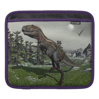 Nanotyrannus dinosaur - 3D render Sleeve For iPads