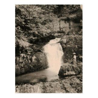 NANS-sous-SAINTE-ANNE Jura La Source du Verneau Postcard