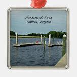 Nansemond River, Suffolk, Virginia Ornaments
