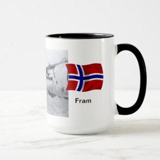 """Nansen with """"Fram"""" in the ice Mug"""