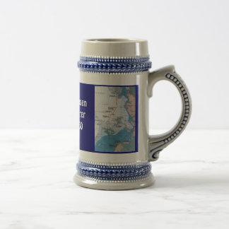 Nansen's Polar Voyages Beer Stein
