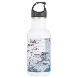 Nansen's Polar Voyages Stainless Steel Water Bottle