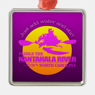 Nantahala River (Sunset) Metal Ornament