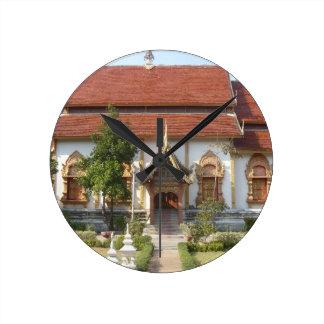 Nantaram Buddhist Temple Round Clocks