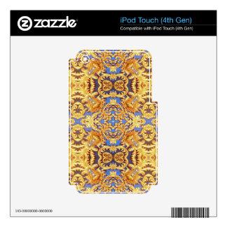 Nantaram Buddhist Temple wall design iPod Touch 4G Skin