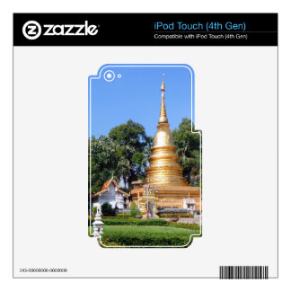Nantaram Temple Pagoda and Garden Decals For iPod Touch 4G