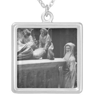 Nantes, St. Peter and St. Paul Cathedral Square Pendant Necklace
