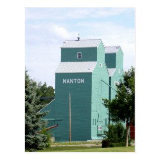 Nanton Grain Elevator Postcard