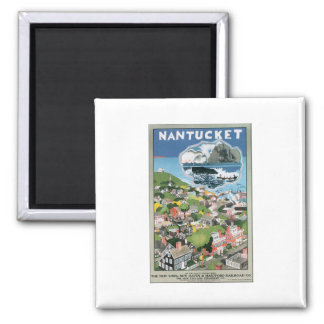 Nantucket 2 Inch Square Magnet