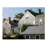 Nantucket Architecture Postcard