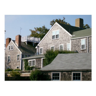 Nantucket Architecture Postcard