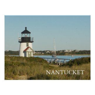 Nantucket Brant Point Lighthouse Poster