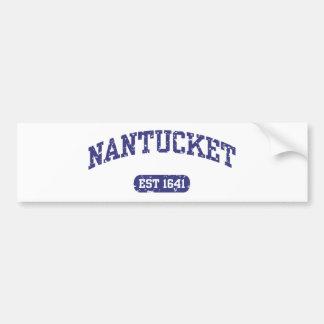 Nantucket Car Bumper Sticker