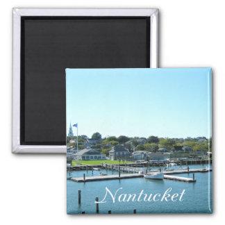 Nantucket Cape Cod Massachusetts (MA) New England 2 Inch Square Magnet