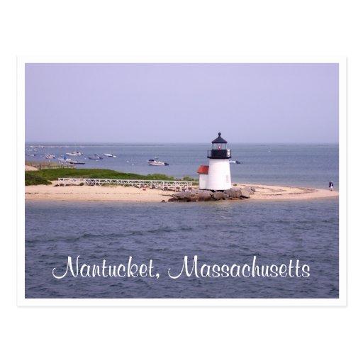 Nantucket - Cape Cod - Massachusetts Post Card