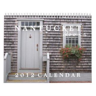 Nantucket Doors 2012 Calendar calendar