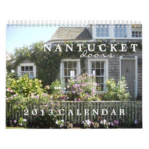 Nantucket Doors 2013 Calendar