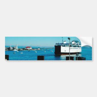 Nantucket Ferry Car Bumper Sticker