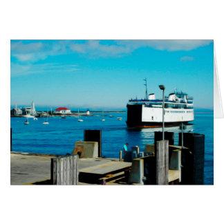 Nantucket Ferry Card