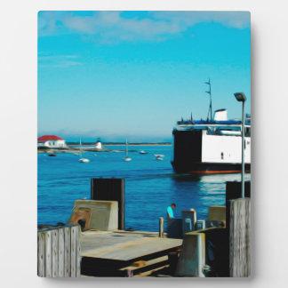 Nantucket Ferry Plaque