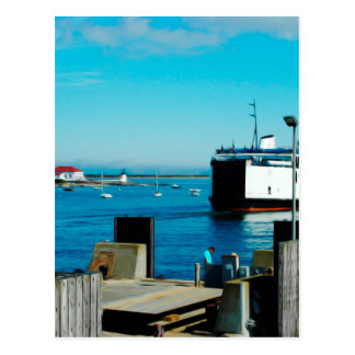 Nantucket Ferry Postcard