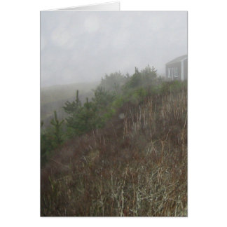 Nantucket Fog Greeting Card