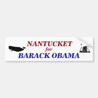 Nantucket for Barack Obama 2012 Car Bumper Sticker