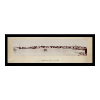 Nantucket from Brant Photo 1895 Poster