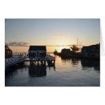 Nantucket Harbor Card