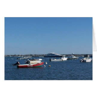 Nantucket Harbor Collection I Greeting Card