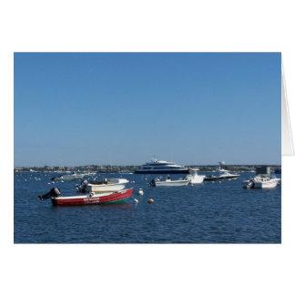 Nantucket Harbor Collection I Card