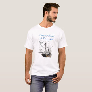 Nantucket Island - A Whalers Life T-Shirt