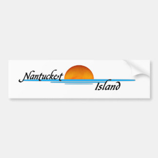 Nantucket Island Bumper Sticker
