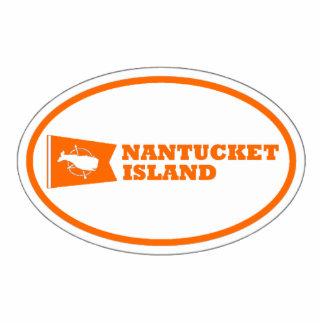 Nantucket Island. Cutout