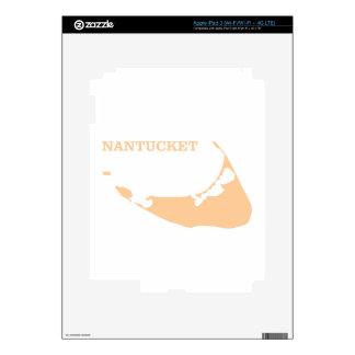 Nantucket Island in Sand Skin For iPad 3