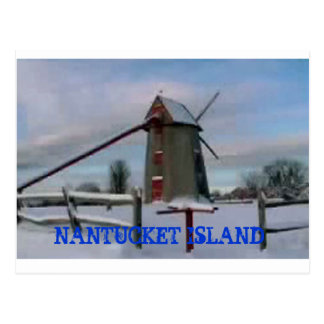 Nantucket Island Postcard