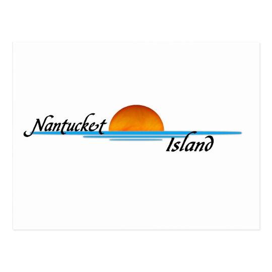 Nantucket Island Postcard