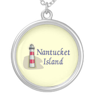 Nantucket Island Silver Plated Necklace