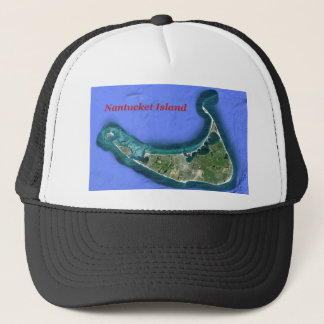 Nantucket Island Trucker Hat