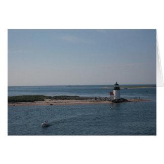 Nantucket Lighthouse Greeting Card