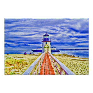 Nantucket Lighthouse Poster