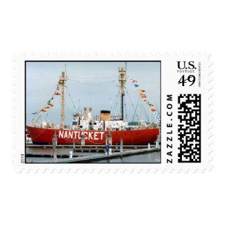 Nantucket Lightship--postage Postage