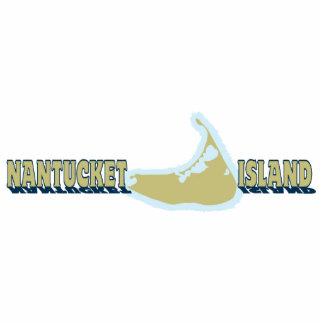 Nantucket mA - Diseño del mapa Esculturas Fotográficas