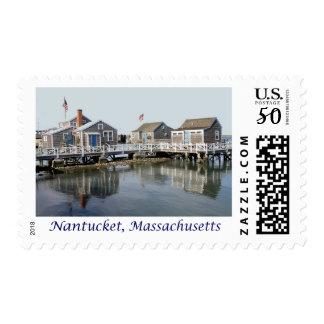 Nantucket MA, Massachusetts Cape Cod USA Postage