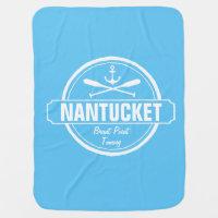 Nantucket, MA personalized name, nautical anchor