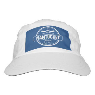 Nantucket, MA personalized name, nautical anchor Hat