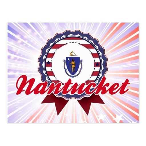 Nantucket, MA Postcard